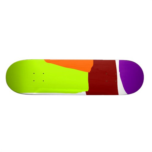 Coral and Trees Coexisting in the Limbo Skate Board Decks