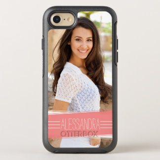 Coral Banner Photo OtterBox Symmetry iPhone 7 Case