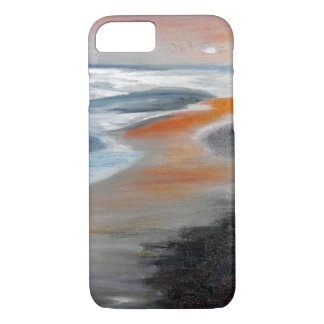 Coral Beach Abstract iPhone Case