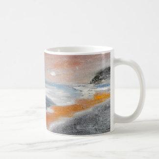 Coral Beach Abstract Mug