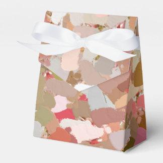 Coral Beads Paint Splatter 5050 favor box