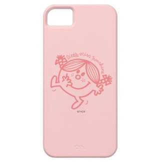 Coral Colored Little Miss Sunshine iPhone 5 Case