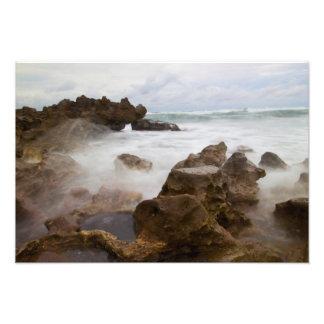 Coral Cove Park beach Florida Photo Print