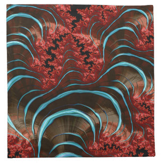 Coral Eruption Napkin Dining Room Design
