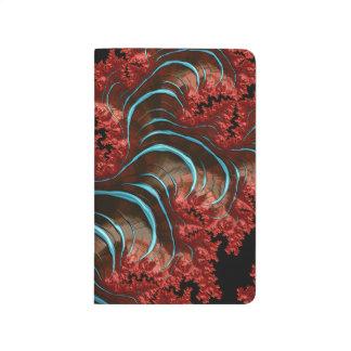 Coral Eruption Pocket Journal Design
