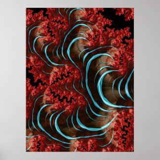 Coral Eruption Poster Design