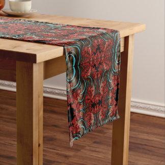 Coral Eruption Table Runner Dining Room Design