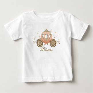 Coral Fairytale Princess Baby Girl T-Shirt