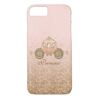 Coral Fairytale Princess iPhone 7 Case
