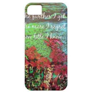 Coral ,Flowers and good message. iPhone 5 Covers