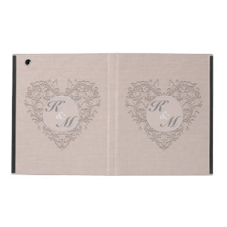 Coral HeartyChic iPad Covers