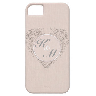 Coral HeartyChic iPhone 5 Cover