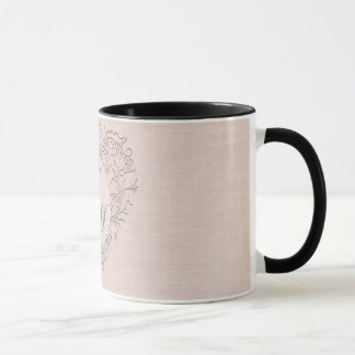 Coral HeartyChic Mug