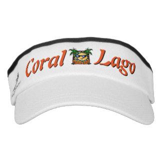 Coral Lago Logo Visor
