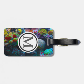 Coral Luggage Tag