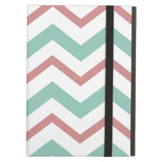 Coral & Mint Chevron iPad Air Case