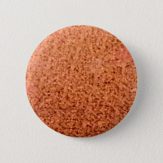 Coral Orange Abstract Low Polygon Background 6 Cm Round Badge