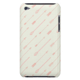 Coral Outlined Arrows Pattern iPod Case-Mate Case