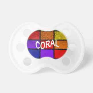 CORAL PACIFIER