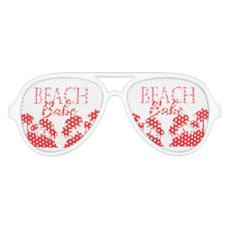 Coral palm Beach aviator Adult Aviator Sunglasses
