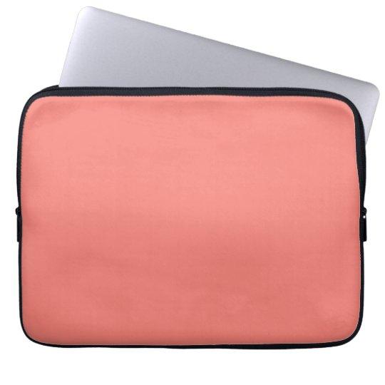 Coral Pink Laptop Sleeves