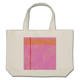 Coral Pink Marble Minimalism Bag