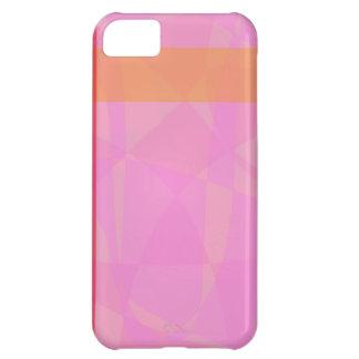 Coral Pink Marble Minimalism iPhone 5C Case