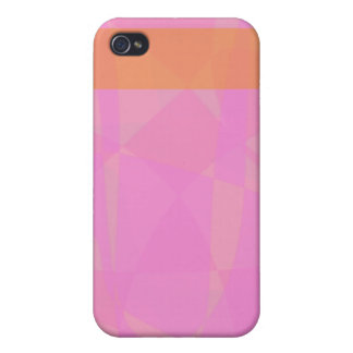 Coral Pink Marble Minimalism iPhone 4/4S Case
