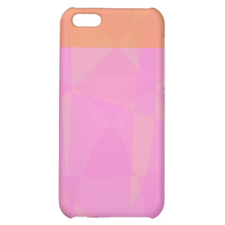 Coral Pink Marble Minimalism Cover For iPhone 5C
