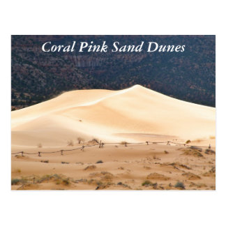 Coral Pink Sand Dunes Postcard