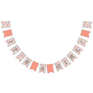Coral Reef Baby Shower Bunting