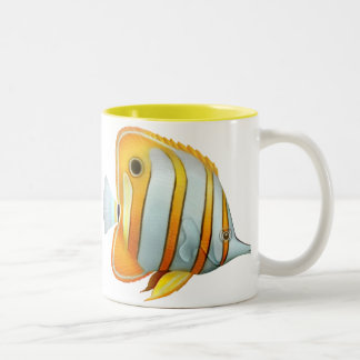Coral Reef Copperband Butterfly Fish Mug