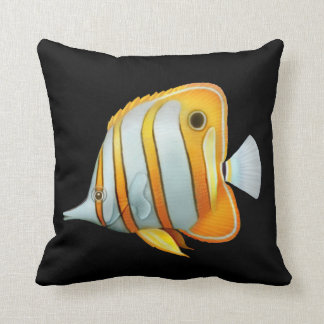 Coral Reef Copperband Butterfly Fish Pillows