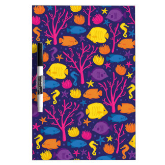 Coral Reef Crew Dry-Erase Whiteboard