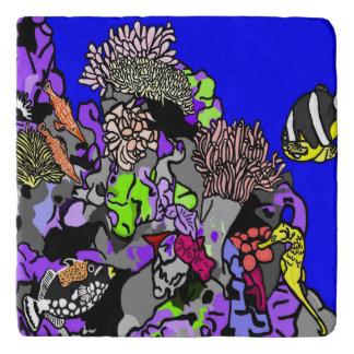 Coral Reef Fish Trivet
