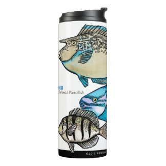 Coral Reef Fishes Thermal Tumbler