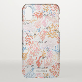 Coral Reef iPhone X Case