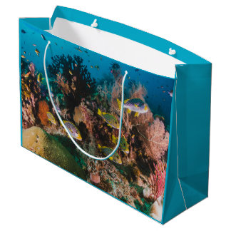 Coral Reef large gift bag