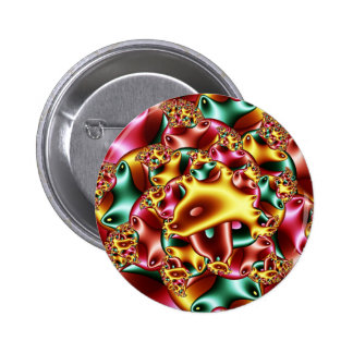 Coral reef pinback button