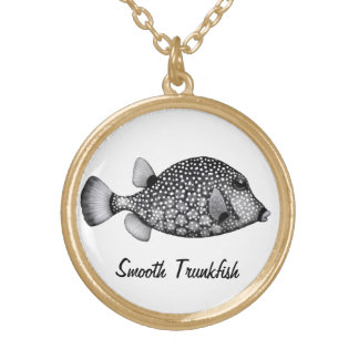 Coral Reef Smooth Trunkfish Necklace