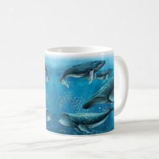 Coral Reef Whales Mug