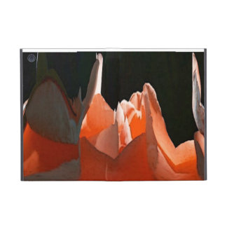 Coral Rose Abstract Cases For iPad Mini