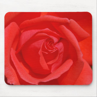 Coral Rose Mouse Pad