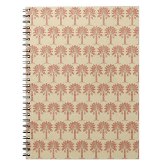 Coral Spice Moods Palm Notebook