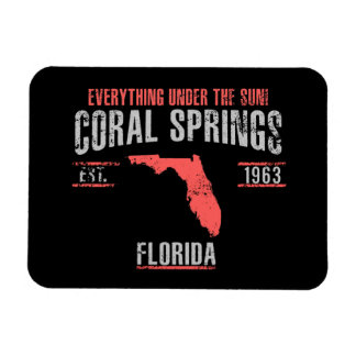 Coral Spings Magnet