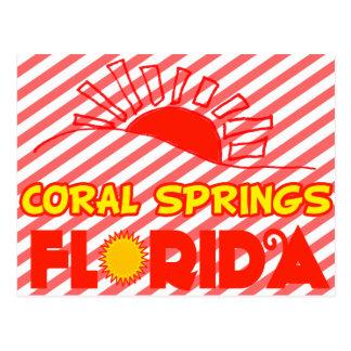 Coral Springs, Florida Postcard