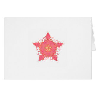 Coral Star Card