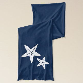 Coral Starfish Funky Soft Jersey Scarf