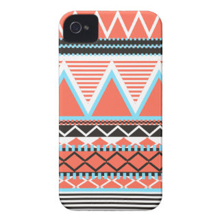 Coral Tribal iPhone 4 Covers