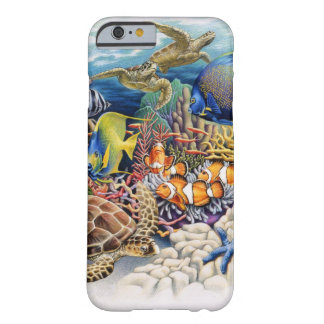 Coral Waters With Tropical Fish Barely There iPhone 6 Case